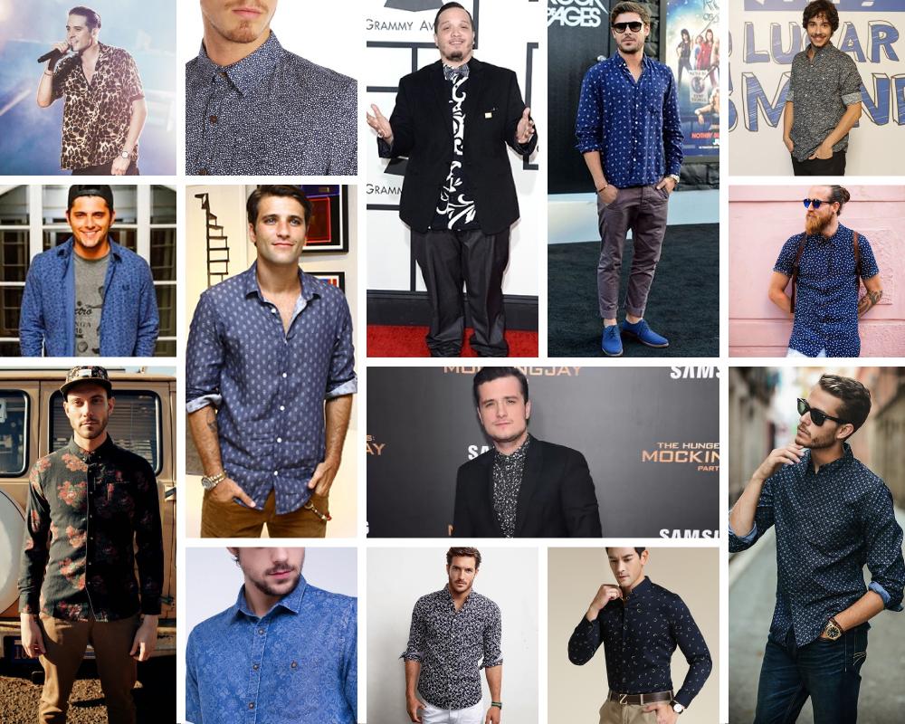 Referências de camisas estampadas